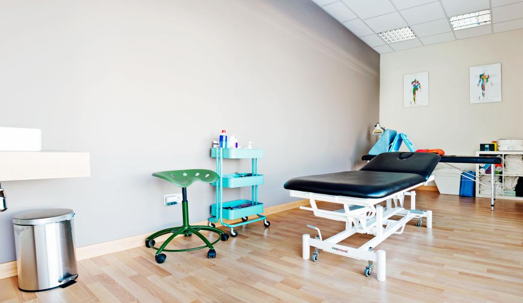 Una de nuestras dos salas de tratamiento